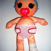 Мягкая куколка Лалалупси с соской