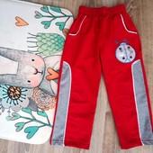 Спортивные штаны на 5-6 лет