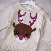 Стоп! ❤ Очень стильный свитерок/свитшот ,2/3 года❤Собирайте лоты,экономьте на доставке