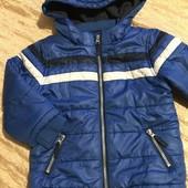 Курточка єврозима на 4-5 років зріст 104-110 у відмінному стані