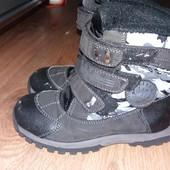 Термо ботинки на мальчика 30размер 19.5см