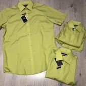 Рубашка с коротким рукавом , размер на выбор .