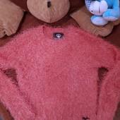 красивенный свитер травка р.S-М или на 42-44 или на 13-15 лет