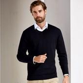 Nobel League мужской тонкий вязаный свитер пуловер Германия!