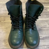 Кожаные очень крутые Деми ботиночки Afencir Новые 35 размер стелька 22,5 см
