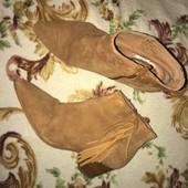 Осенние ботинки Испания натуральные 38 р
