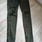 Бомбезные джинси(хаки) /скини/Yes Design/M!!!