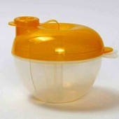 Контейнер для детских смесей санкционный Lindo желтый