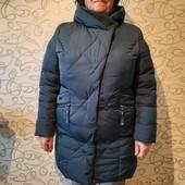 Пуховик зимовий 54-56р. Дуже тепле.