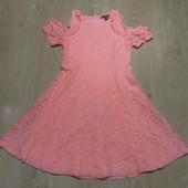 Нарядное ажурное платье Primark состояние отличное