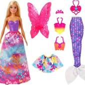 оригинал Mattel Кукла Barbie Волшебное перевоплощение