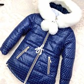 Курточка для девочки.Зима.