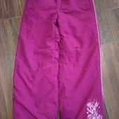 Теплые брюки для девочки на рост 140,замеры,отличное состояние