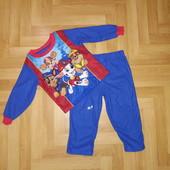 ❤️ Новинка! Классная теплая новая пижамка из Америки. 3 Т по бирке