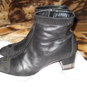 Ботинки Италия,натуральная лайковая кожа. Стелька 27 см