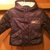 Куртка. деми, внутри флис, размер 2 года 92 см, Baby Club.