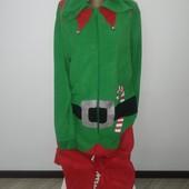 Новый новогодний слип пижамка размер м/л замеры на фото