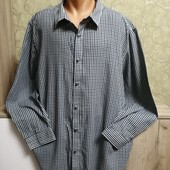 Собираем лоты!! Брендовая мужская рубашка на пышную красу, размер 4xl