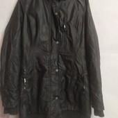 Теплая длинная непромокаемая курточка