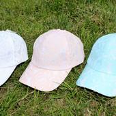 Красивые, модные женские кепки кружевные, на объем 56 -58