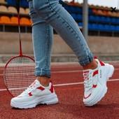Трендовые дышащие кроссовки на платформе. 36,38,39,40.