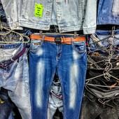 Новые стрейчевые джинсы, р. 31, поб 52 см, пот 42 см