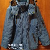 Красивая куртка на весну, рост 128 см