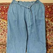 джинсовые брюки кюлоты поб. 54