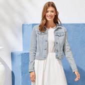 женский стильный джинсовый пиджак Esmara.