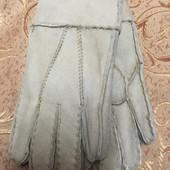 Детские теплые перчатки на меху. Натуральная овчина