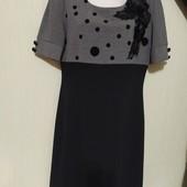 Красивое трикотажное платье.