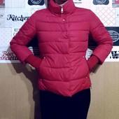 Суперская,фирменная куртка деми, размер L,XL ,холодная осень, теплая зима!,)