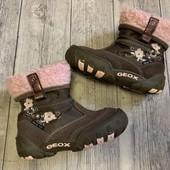 Отличные Деми ботиночки Geox 24 размер стелька 15 см