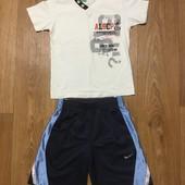 Комплект футболка Almi+ шорты Nike 110 рост на 5 лет
