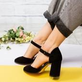 Туфли замшевые в идеальном состоянии 35р