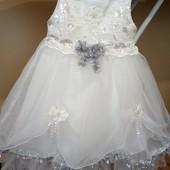 Платье на праздник 1.5-2 года