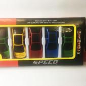 Набор детских машинок моделек speed 5 штук