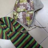 Комплект зимняя шапка + шарф