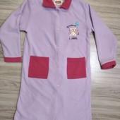 Флисовый халат 9-10лет