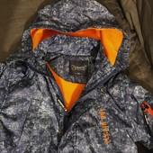 Стильная куртка-парка Grace Венгрия на тонкой флисовой подкладке, р. 140