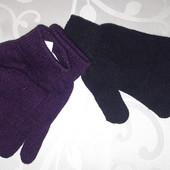 Перчатки 2 пары . Новые . 128 -164