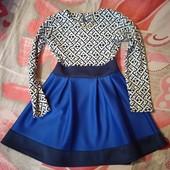 Платье на девочку, рост 128-134см