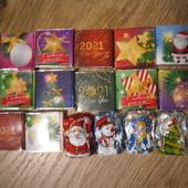 Набор новогодних конфет.Все,что на фото)Вкусные и свежие)