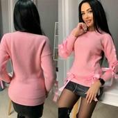 Модный,новый свитер нежность)О покупке не пожалеете)