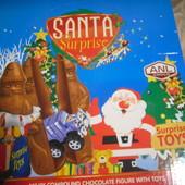 Готовимся к праздникам.Большущий дед Мороз с сюрпризом.Высота 14 см.В лоте 1 штука.Можно докупить.