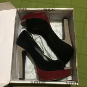 #152 крутяцкие туфли/босоножки! Высокий каблук! Три цвета.