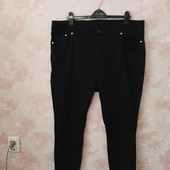Черные стильные зауженные джинсы , тянутся ! УП скидка 10%