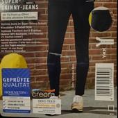 стильные супер скинни, джинсы, от Esmara. Пуш-ап эффект!