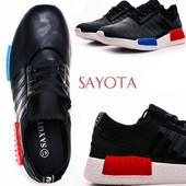 Неубиваемые кроссовки Унисекс - фирмы Sayota. Супер качество.36 - 23 см.