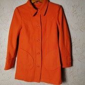 ЛоВиЛоТы! Шикарное апельсиновое пальто